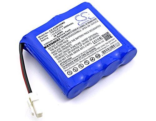 Cameron Sino 2600 mAh Li-ion High-Capacity Replacement Batteries for EDAN M3, fits EDAN TWSLB-009