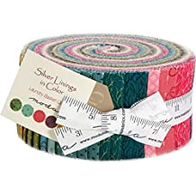 Laundry Basket Quilts Silver Linings In Color Jelly Roll 40 2.5-inch Strips Moda Fabrics 42261JR