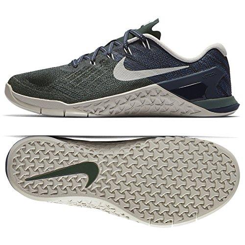 Cheap NIKE WMNS Metcon 3 849807-301 Vintage Green/Thunder Blue/Bone Women's Training Shoes (Medium / 15 B(M) US)