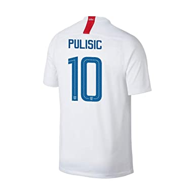 2648c3ff0 Official USA Home Soccer Jersey 2018 Christian Pulisic  10 Youth Size Small