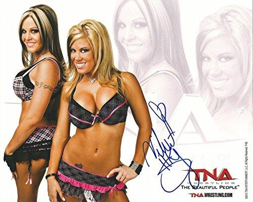 10 Photo 2010 Promo Beautiful People TNA Impact Wrestling - Autographed Wrestling Photos ()