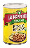 LA PREFERIDA BEAN PINTO ORG, 15 OZ
