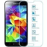 mondpalast@ Pellicola Protettiva ultraresistente in Vetro Temperato con spessore solo di 0,3 mm per Samsung Galaxy S5 mini SM-G800