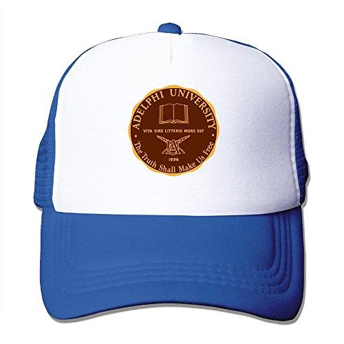 Texhood Adelphi University Geek Cap Hat One Size RoyalBlue