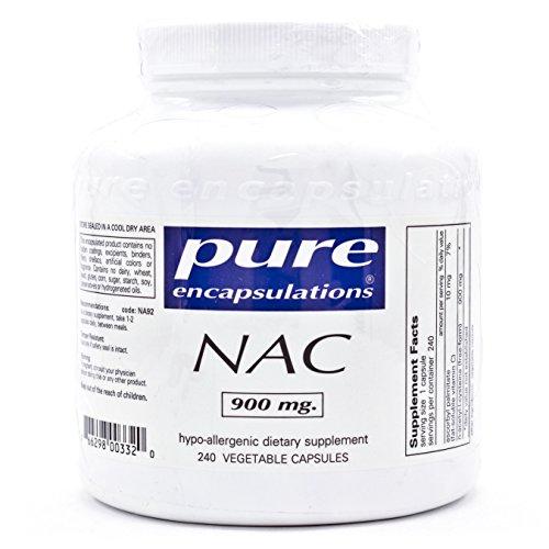 Pure Encapsulations NAC N acetyl l cysteine 240ct