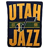 Northwest NBA Utah Jazz Micro Raschel Throw, One