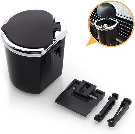 Coque plastique noir porte-clope cendrier Auto