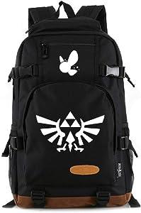 YOYOSHome Luminous Anime The Legend of Zelda Cosplay Bookbag Daypack Laptop Bag Backpack School Bag