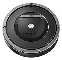 iRobot Roomba 871 Staubsaug-Roboter, mit Fernbedienung, grau