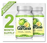 Lean Garcinia Cambogia Extract – 2 Bottles (Featuring Lean Clinically-proven, Multi-patented 60% HCA Extract for Weight-loss and Appetite Control) 1,000 Mg Per Serving, Health Care Stuffs