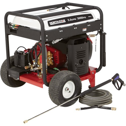 NorthStar Gas Cold Water Pressure Washer - 5000 PSI, 5.0 GPM
