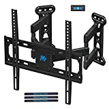 Mounting Dream Full Motion Corner TV Wall Mount Bracket for Most 26-50 Inch LED, LCD, OLED Flat Panel Screen TV, Mount with Swivel Articulating Arms up to VESA 400x400mm and 60 LBS with Tilting MD2501