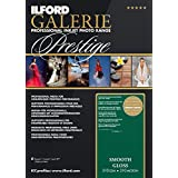ILFORD 2001739 GALERIE Prestige Smooth Gloss - 8.5 x 11 Inches, 100 Sheets