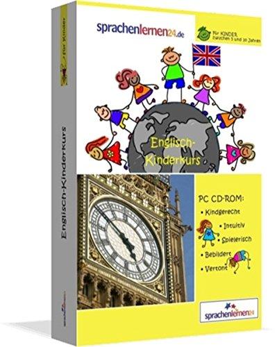 Englisch-Kindersprachkurs von Sprachenlernen24: Kindgerecht bebildert und vertont für ein spielerisches Englischlernen. Ab 5 Jahren. PC CD-ROM für Windows 10,8,7,Vista,XP / Linux / Mac OS X