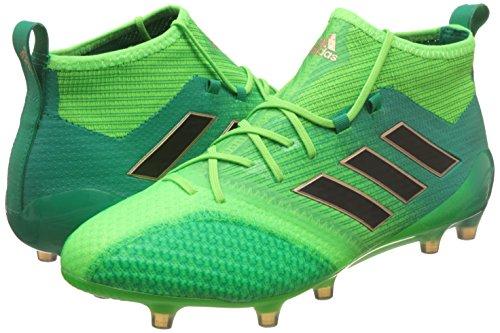 adidas ACE 17.1 PRIMEKNIT FG - Botas de fútbol para Hombre, Verde - (VERSOL/NEGBAS/VERBAS) Solar green-Core black