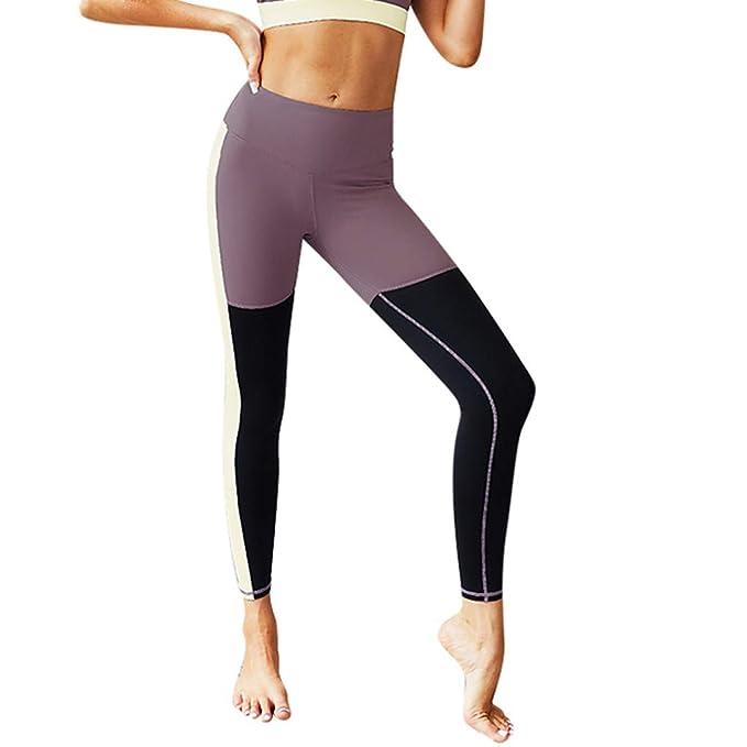 Mujer Leggings Pantalones Deportivos,Pantalones de Yoga ...