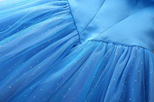 Abiti Blu Costume Da 11 Farfalle 3 Regina Ragazze Principessa Anni Blu Del Pettigirl Abito Fantasia Della qwZzAxfvf