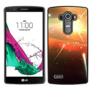 Planetar® ( Shooting Stars Firecrackers ) LG G4 H815 H810 H811 LS991 LS986 US991 H815 U812 Fundas Cover Cubre Hard Case Cover