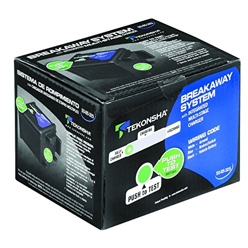 Tekonsha 50-85-325 Shur-Set III Breakaway System with LED Test Meter, Battery, Switch and Charger by Tekonsha (Image #1)
