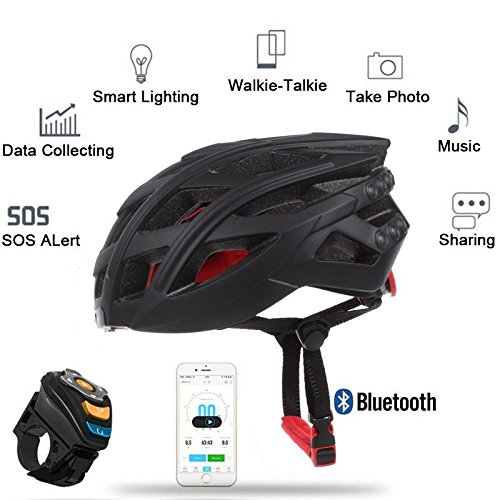 Bazaar LIVALL 7in1 Bluetooth Smart Fahrradhelm LED Rücklicht Telefonanruf Musik Spieler Kamera Unterstützung APP Big Bazaar