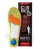 Currexsole Runpro Insoles - Low Arch Walking/Running Size: XL: Men's 10.5-12