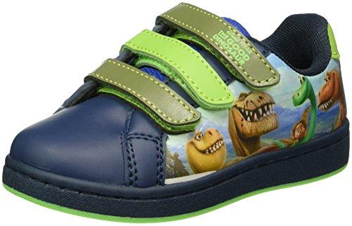Arlo & Spot Jungen Boys Kids Low Sneakers Top Blau (LNV/KH/GN/RB 067)