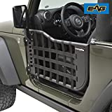 EAG Matrix Tubular Door for 07-18 Jeep Wrangler JK (2 Door Only) (With Mirrors)