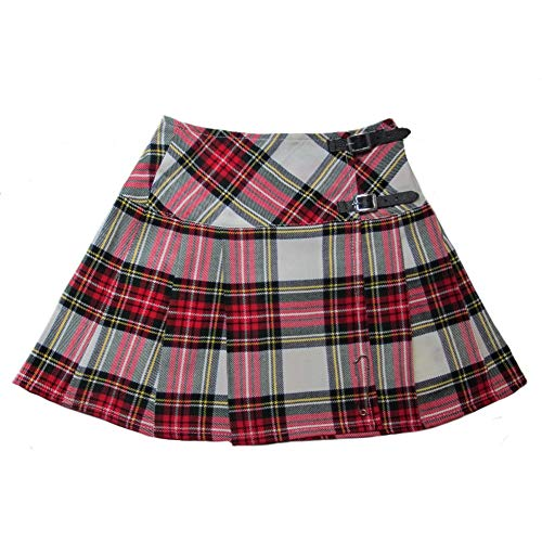Tartanista Womens 16.5 Inch Scottish Tartan Mini Kilt Skirt Dress Stewart 6 - Tartan Stewart Dress