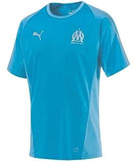 PUMA 2018-2019 Olympique Marseille Training Jersey (Blue)
