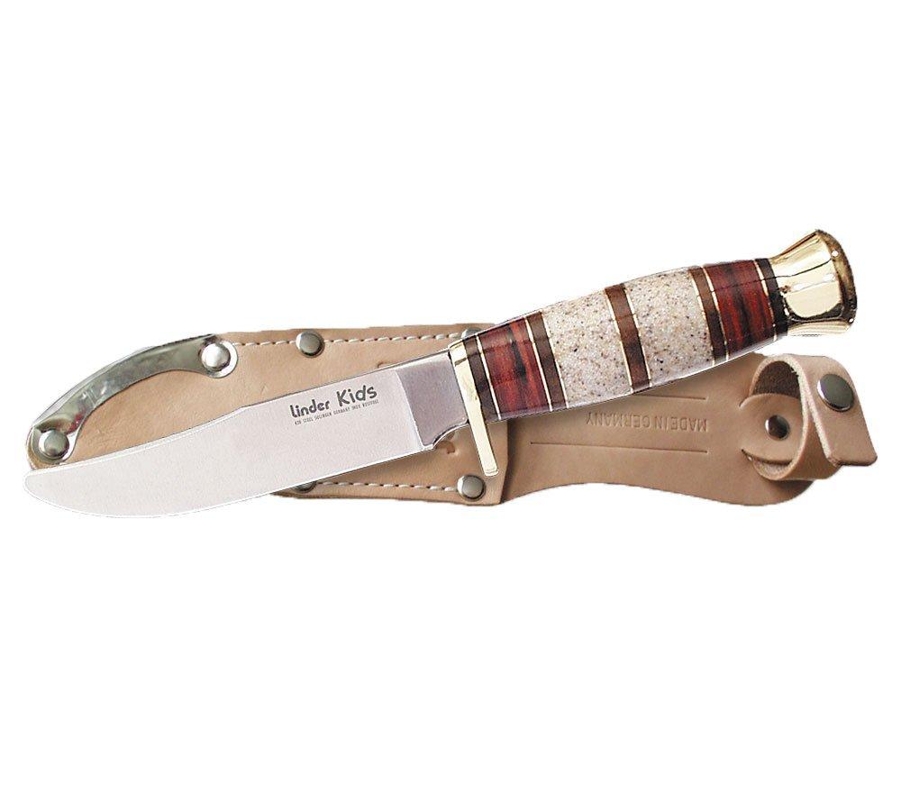 Linder - Cuchillo para niños (Longitud de la Hoja: 9.6 cm ...
