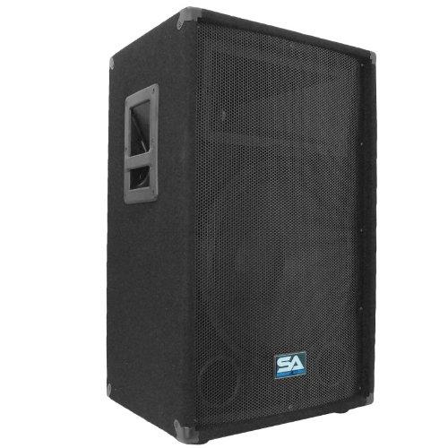 Seismic Audio - 15 Inch PA DJ Speaker 350 Watts PRO Audio - Mains, Monitors, Bands, Karaoke, Churches, Weddings by Seismic Audio