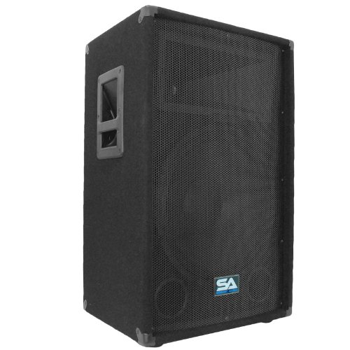 Seismic Audio - 15 Inch PA DJ Speaker 350 Watts PRO Audio - Mains, Monitors, Bands, Karaoke, Churches, Weddings from Seismic Audio