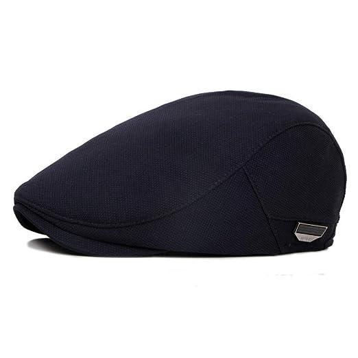 KFEK Sombrero de Pintor de Visera para Exteriores de Color sólido ...