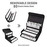 80 Slots Marker Pen Case, Large Capacity