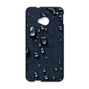 Creative Water Foot Print Cell Phone Case For HTC M7