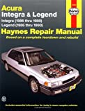 Haynes Acura Integra (1986-1989) & Legend (1986-90)