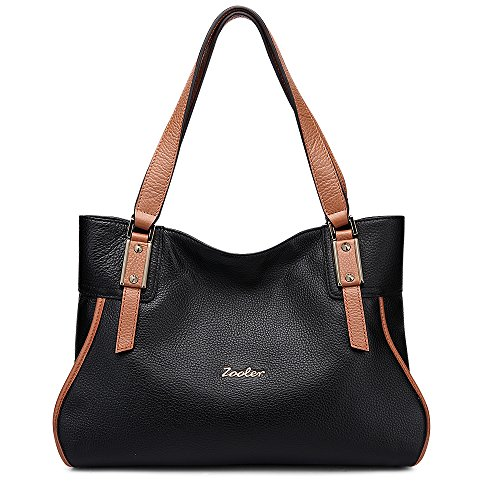 ZOOLER Womens Leather Handbags Shoulder Bag Top Handle Tote for Lady by ZOOLER