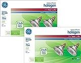 GE Lighting 62231 Energy-Efficient Halogen 75-Watt (90-watt replacement) 1500-Lumen PAR38 Floodlight Bulb with Medium Base, 2-Pack (4 Bulbs)
