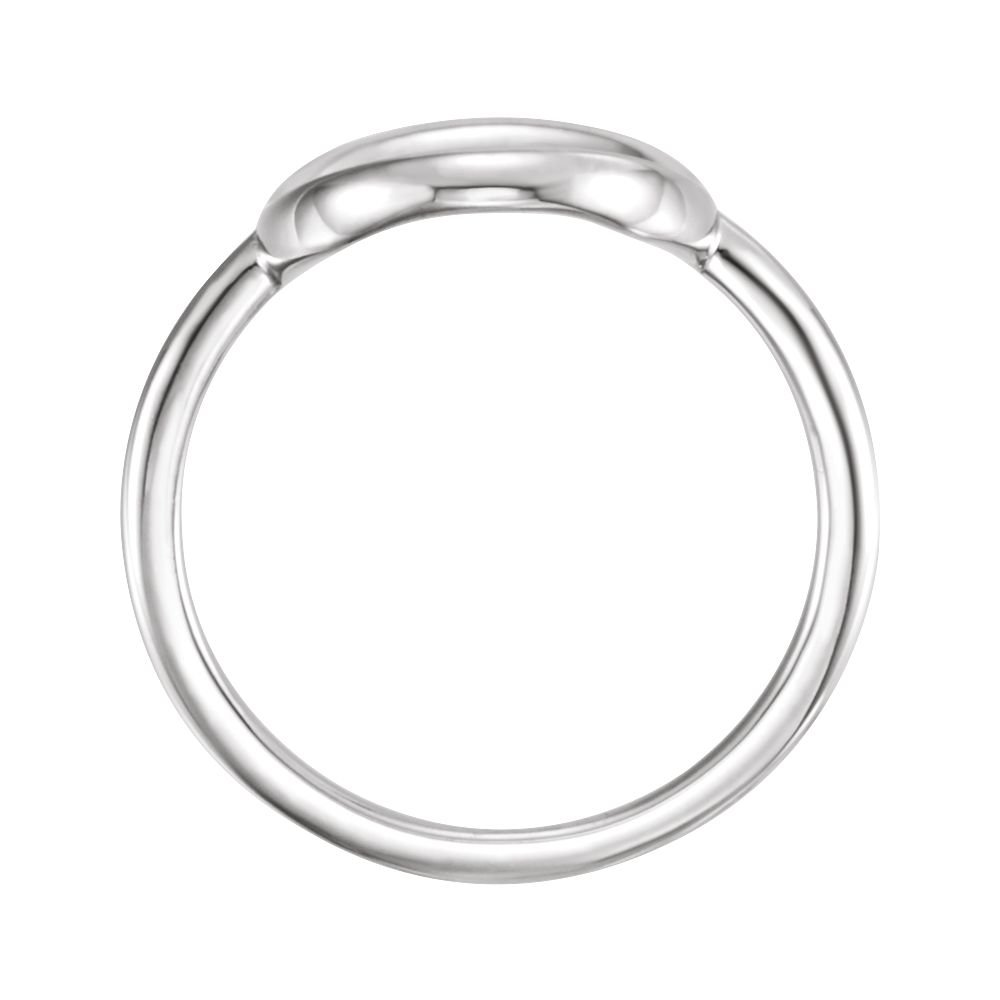 FB Jewels 925 Sterling Silver Circle Ring