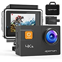 APEMAN Action Camera 4K 20MP WiFi Ultra HD Underwater...