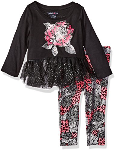 Limited Too Baby Girls  2 Piece Set Long Sleeve Top and Legging Pant