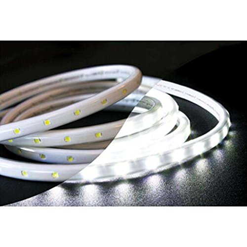 American Lighting 120-TL60-19.7-WH 120-volt 5000K LED Tape-Rope Hybrid Lighting Kit with 5-Feet Cord and Mounting Hardware, 19.7-Feet, Bright White