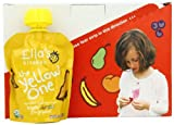 Baby / Child Ella's Kitchen Organic Smoothie Fruits 100% Fresh Fruits 3 Ounce (Pack Of 7) - The Yellow One Infant