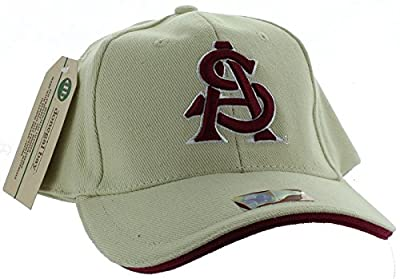 New! Arizona State Sun Devils Adjustable Back Hat 3D Embroidered Cap - ASU by Colosseum Headwear