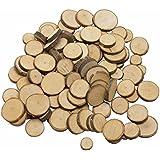 Goki Astscheiben - Set zum Basten mit 200 Stück Holzscheiben
