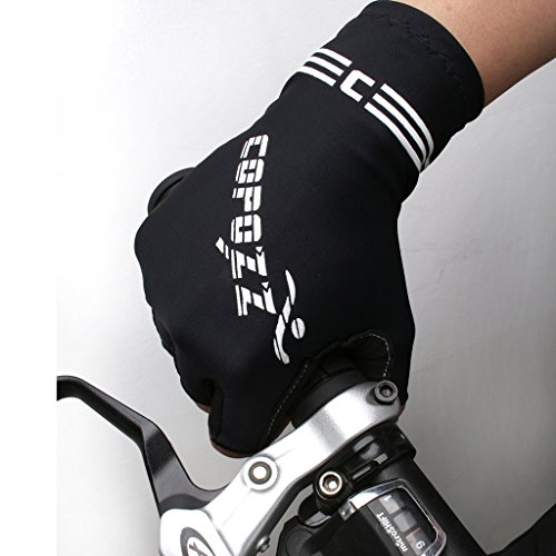 Bike Gloves Women, COPOZZ Ultra-breathable Silicone and Anti-slip Half Finger Cycling Bike Bicycle Gel Gloves Soft Perfect Fit Hand for Men Women