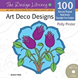 Art Deco Designs, Polly Pinder, 1844487326