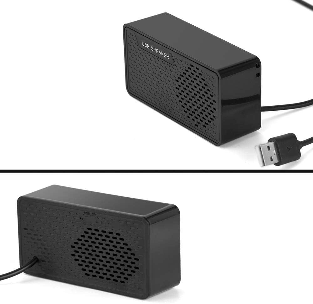 Usb Speaker Mini Stereo Multimedia Speaker For Computer Notebook Laptop Pc A Black Mp3 Hifi