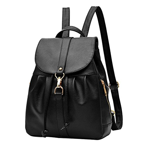 Sturdy Outdoors TSRHFGT Black2 Casual Girl's Bag Backpack Leather Purse School Travel Women Bag 1gq6gwZ