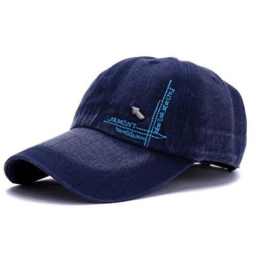 Revgear Long Sleeve (YOYEAH Unisex Washed Cotton Adjustable Dad Hat Fashion Baseball Cap Blue)
